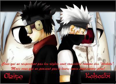 Obito et Kakashi ...