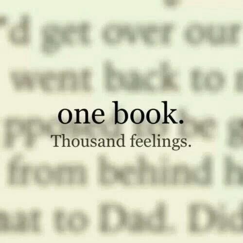 Un livre - Mille et une choses à ressentir ●○●○●○●○