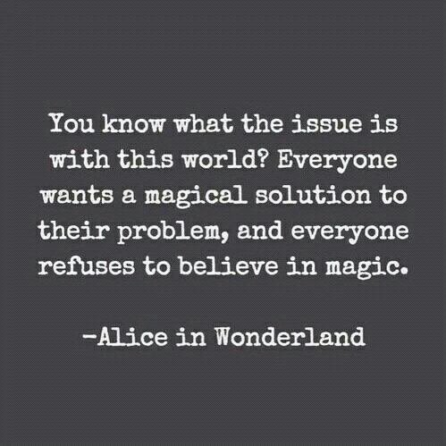 - Alice In Wonderland