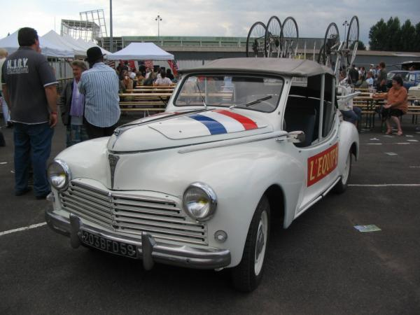 peugeot 203 tour de france 1953 street cars. Black Bedroom Furniture Sets. Home Design Ideas