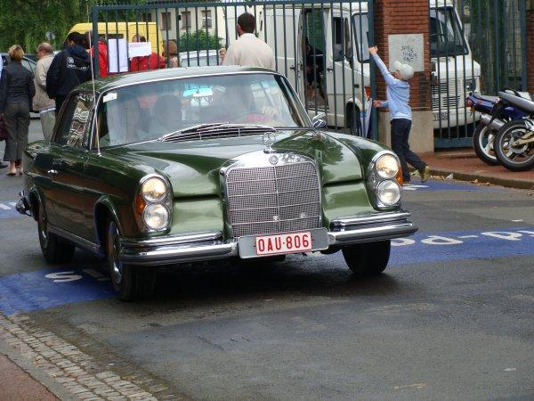 Mercedes S W108 Coupé 1966