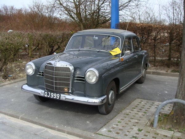 Favori Mercedes 190 B 1959 - STREET CARS HF18