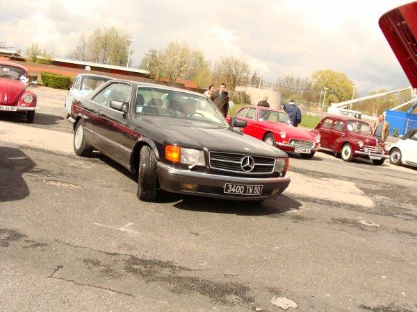 Mercedes SEC C126 1986