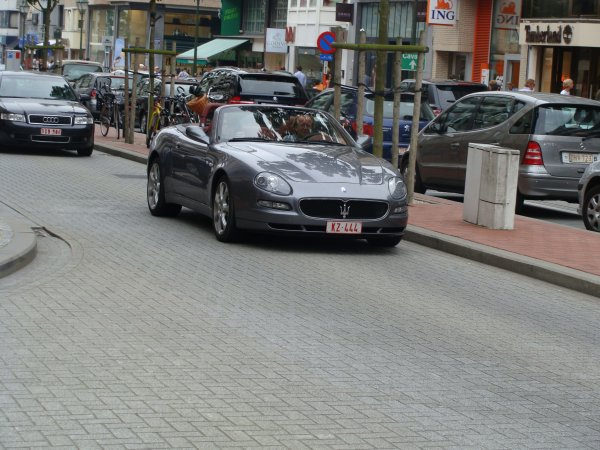 Maserati Spyder 2001