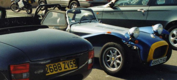 TVR Griffith / Caterham Super Seven