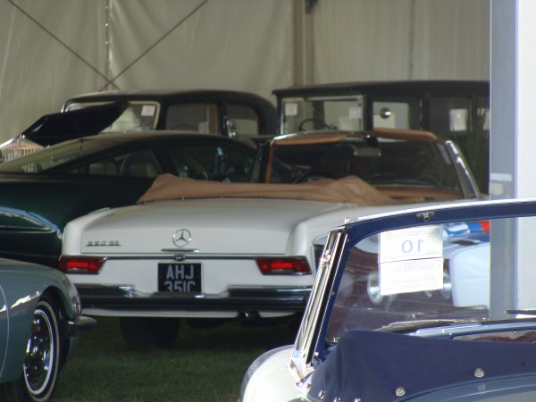 Mercedes S W111 1961