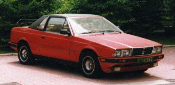 Maserati Spyder 1984