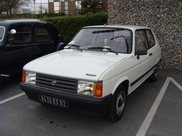 Talbot Samba GL 1981