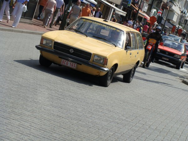 Opel Rekord D Break 1972