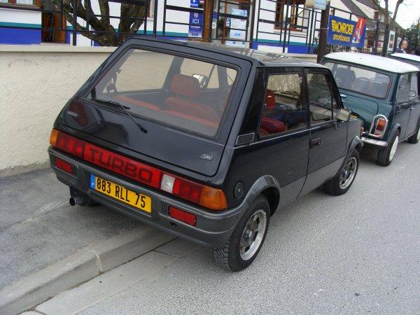 Innocenti Mini De Tomaso Turbo 1984