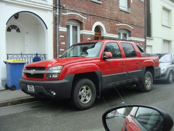 Chevrolet Avalanche 2001