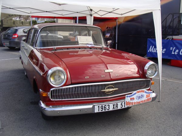 Opel Kapitan 1962