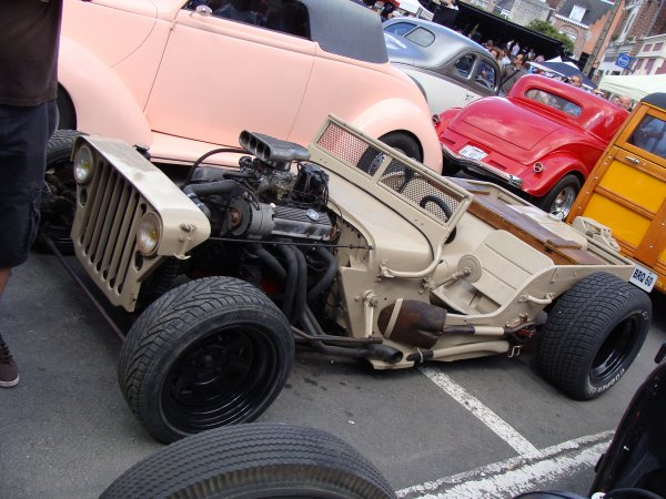 Willys MB Hot Rod
