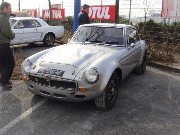 MG C GT 1967