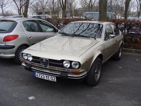 Alfa Romeo Alfetta GTV 1976