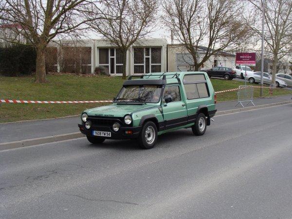 Talbot-Matra Rancho X 1980