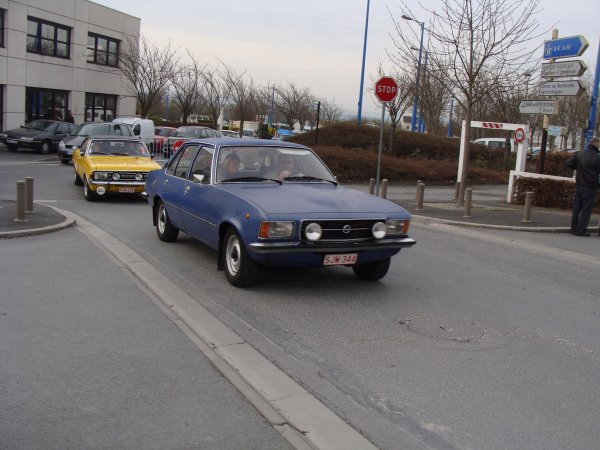 Opel Rekord D 1972