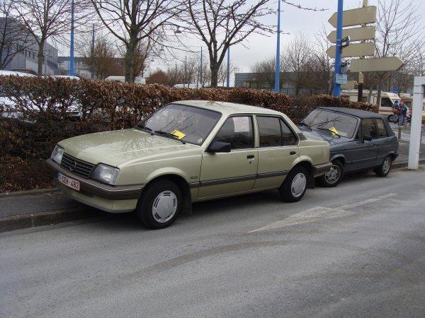 Opel Ascona C 1987