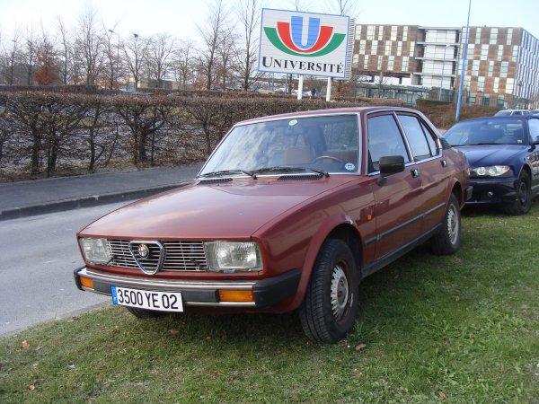 Alfa Romeo Alfetta 1981