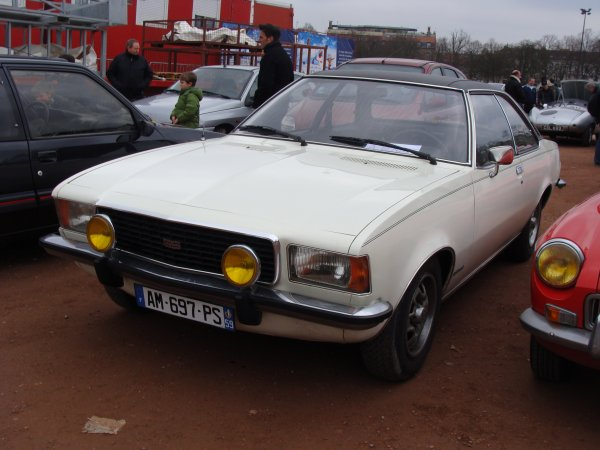Opel Commodore B 1972
