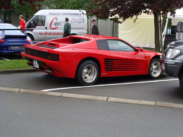 Fiero Factory Ferrari Testarossa Replica