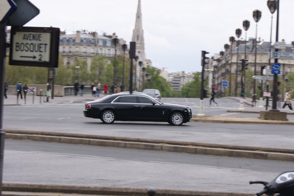 Rolls Royce Ghost LWB 2011
