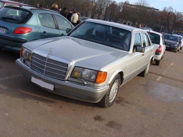 Mercedes S W126 1986