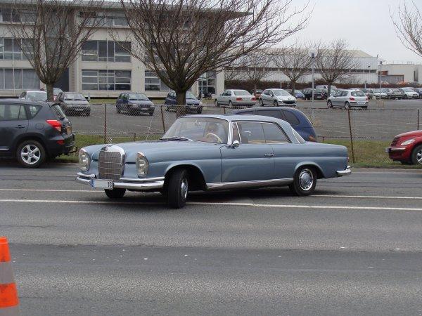 Mercedes S W111 coupé 1960
