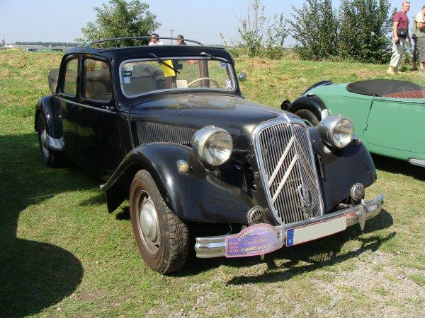 Citroën Traction 15-6D découvrable 1950