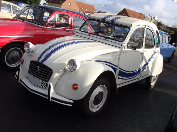 Citroën 2 CV 6 France 3 1983
