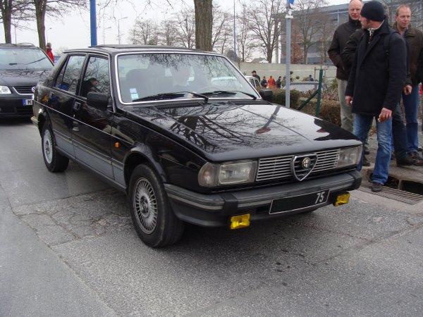 Alfa Romeo Giulietta 1981