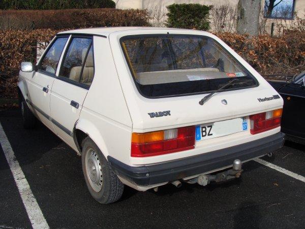 Talbot Horizon GLS 1982