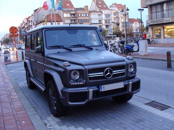 Mercedes G W463 2012