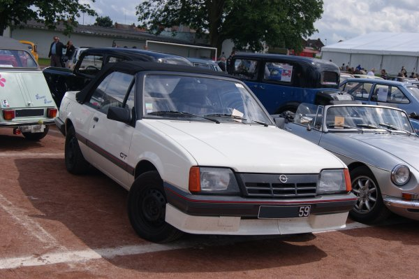 Opel Ascona C Cabriolet 1987