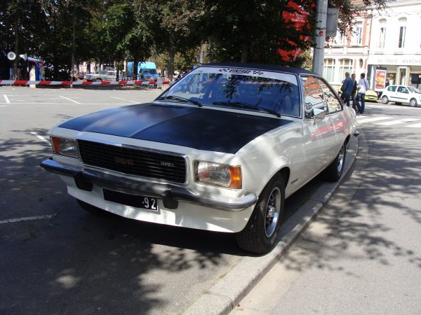 Opel Commodore B GS/E 1972