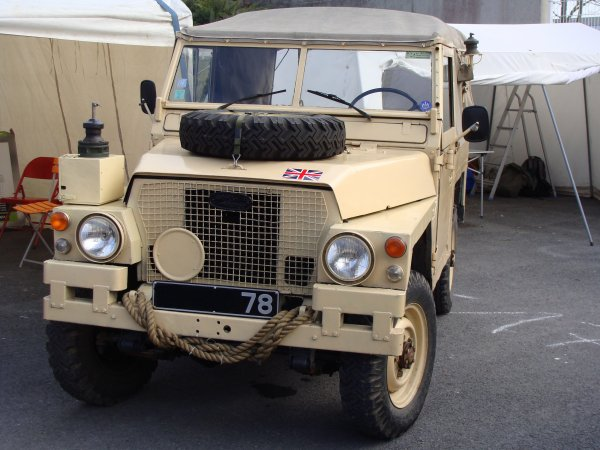 Land Rover 88 S2 lightweight 1970