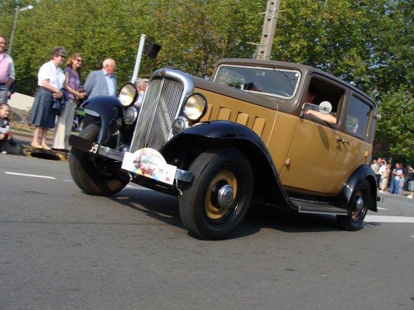 Citroën Rosalie 10 AL 1933