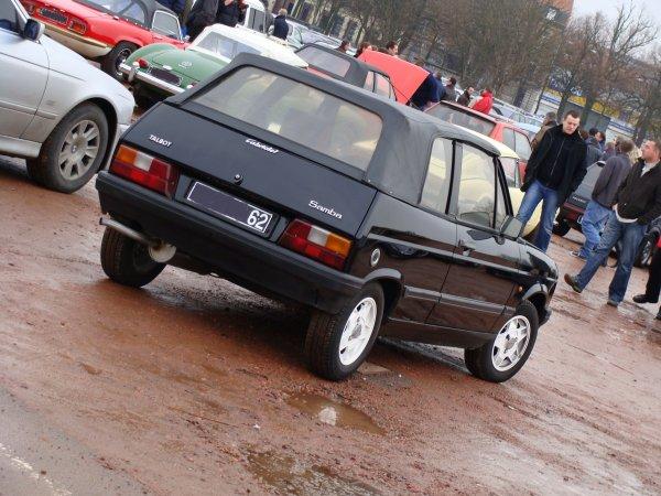 Talbot Samba Cabriolet 1982