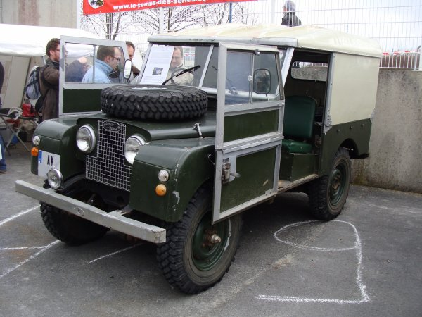 Land Rover 88 S1 1956