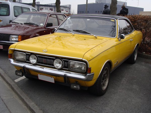 Opel Commodore A GS 1967