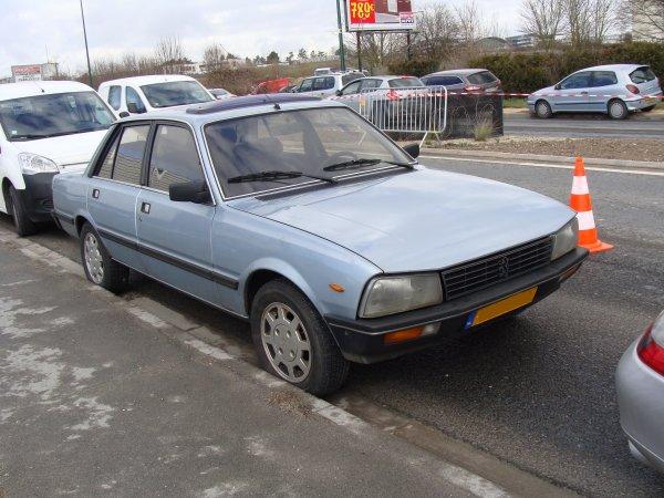 Peugeot 505 GRD Turbo 1985