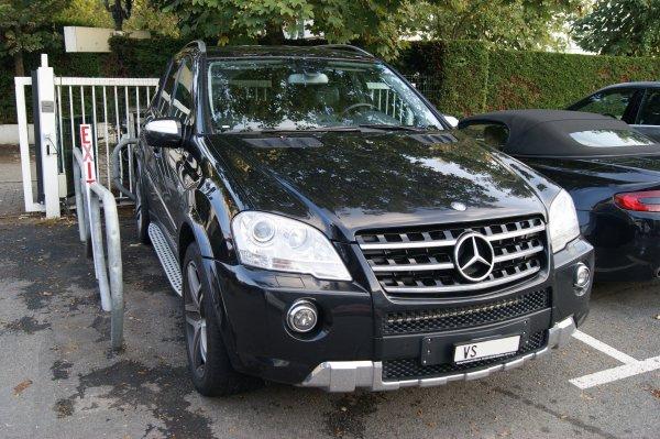 Mercedes ML W164 63 AMG 2008