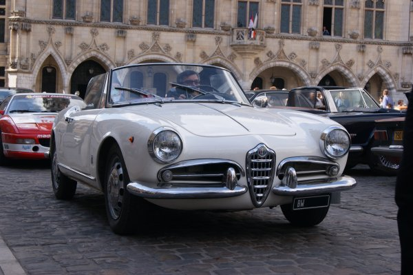 Alfa Romeo Giulietta Spider 1959