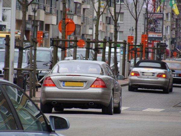 Mercedes CL 600 C215 2003