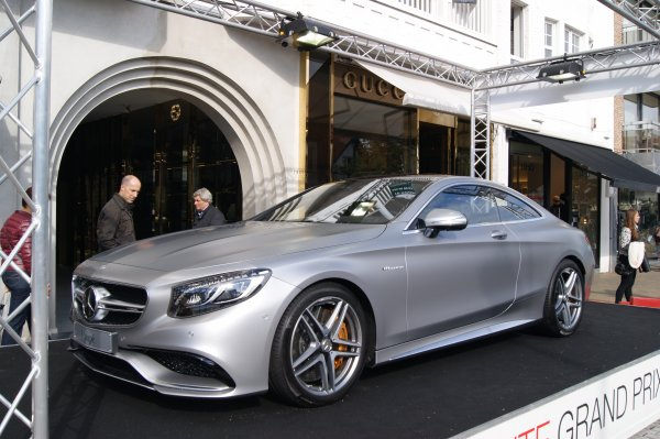 Mercedes S W222 63 AMG Coupe 2014