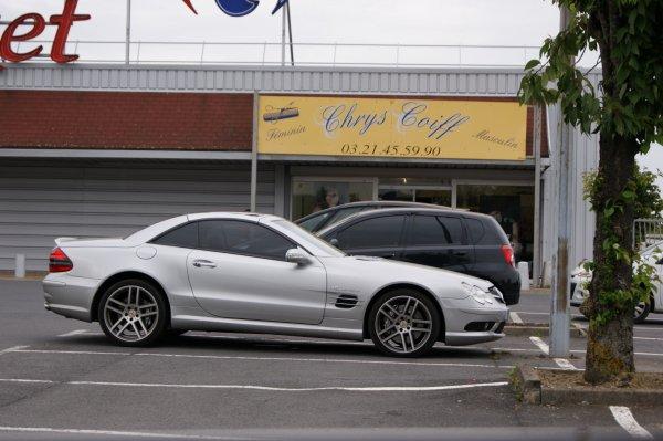 Mercedes SL 55 AMG R230 2002