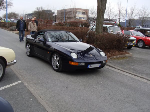 Porsche 968 Cabriolet 1991