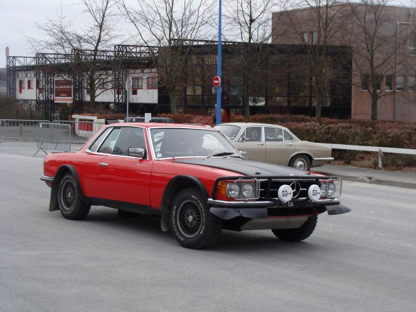 Mercedes SLC C107 1973