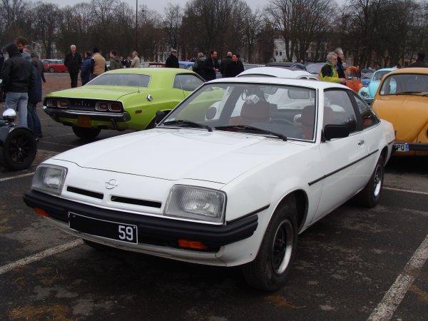 Opel manta B 1979