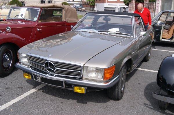 Mercedes 350 SL R107 1971